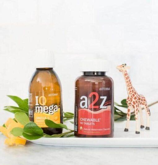 סט ויטמינים דוטרה – A2Z + IQ Mega