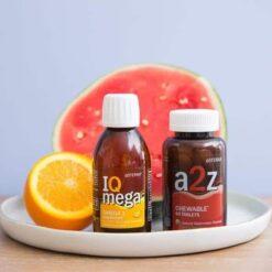 סט ויטמינים – A2Z + IQ Mega